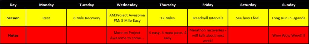 training plan week 3