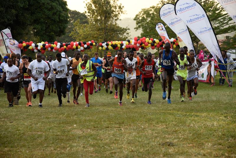 The 2016 UGM International Race Times