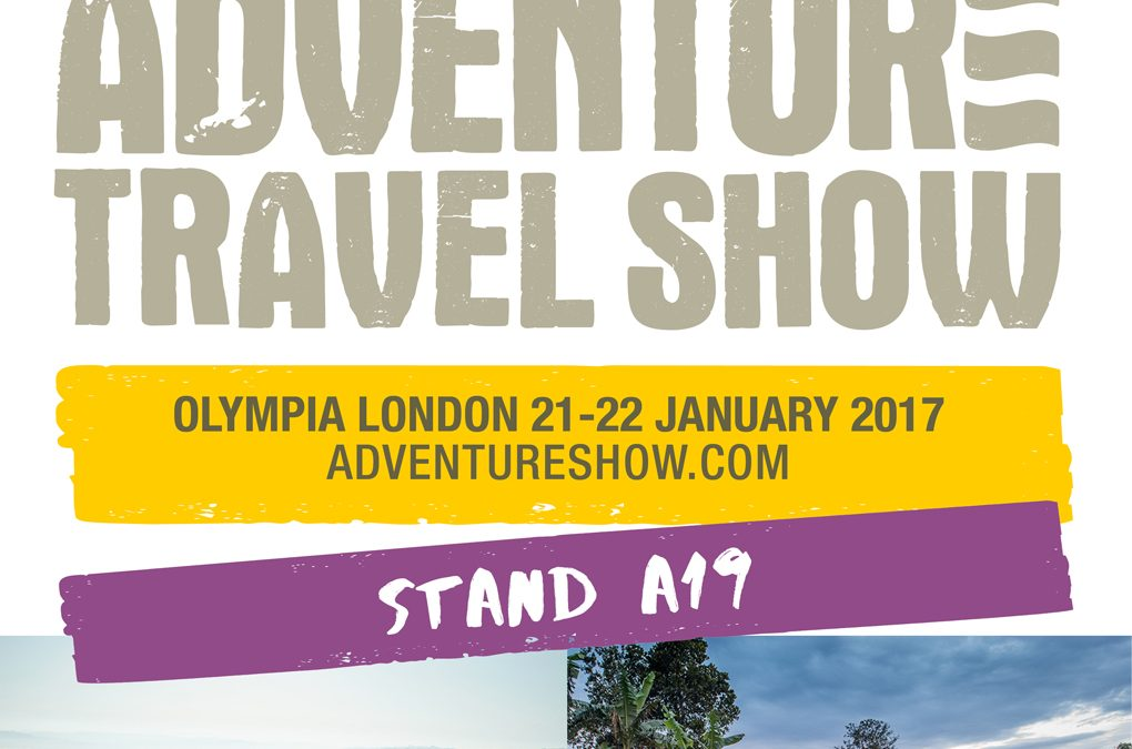 Exciting Announcement! We Are Showing at the UK Adventure Travel Show