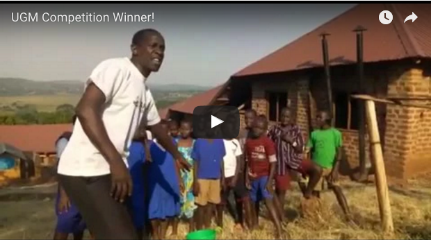 Competition Winner! Announced from one of our Charity Projects in Uganda…