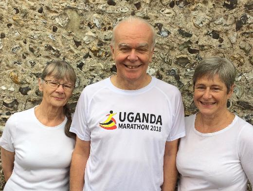 Interview with three UGM Runners – Robert & Elaine Mallett, and Celia Waters