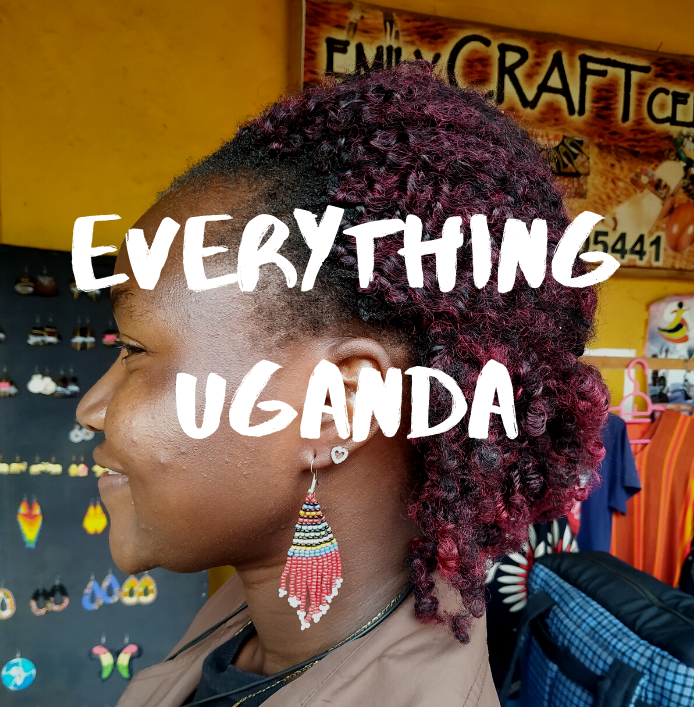 Everything Uganda: How to Make Beaded Earrings
